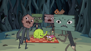 S1e4 tree trunks with sign zombies2