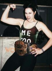 Jamie Synn as ECCW Womens Champion