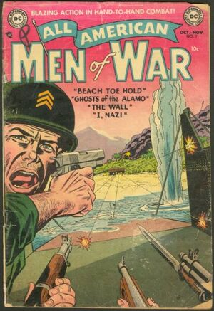 Cover for All-American Men of War #7