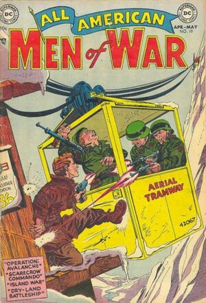 Cover for All-American Men of War #10