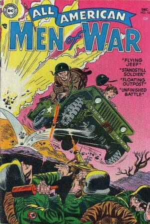 Cover for All-American Men of War #16