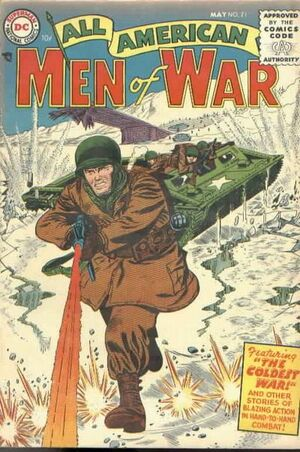Cover for All-American Men of War #21