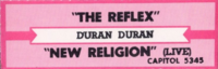 The reflex jukebox title slip duran duran