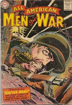 Cover for All-American Men of War #42