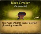 Black Cav. Hat