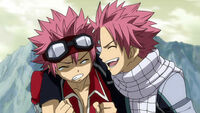 Natsu meets the other Natsu