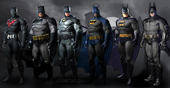 Batmen alternate suits AC