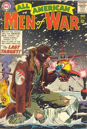 Cover for All-American Men of War #104