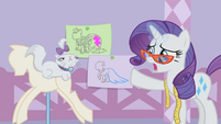 Rarity points at the sketches S1E14