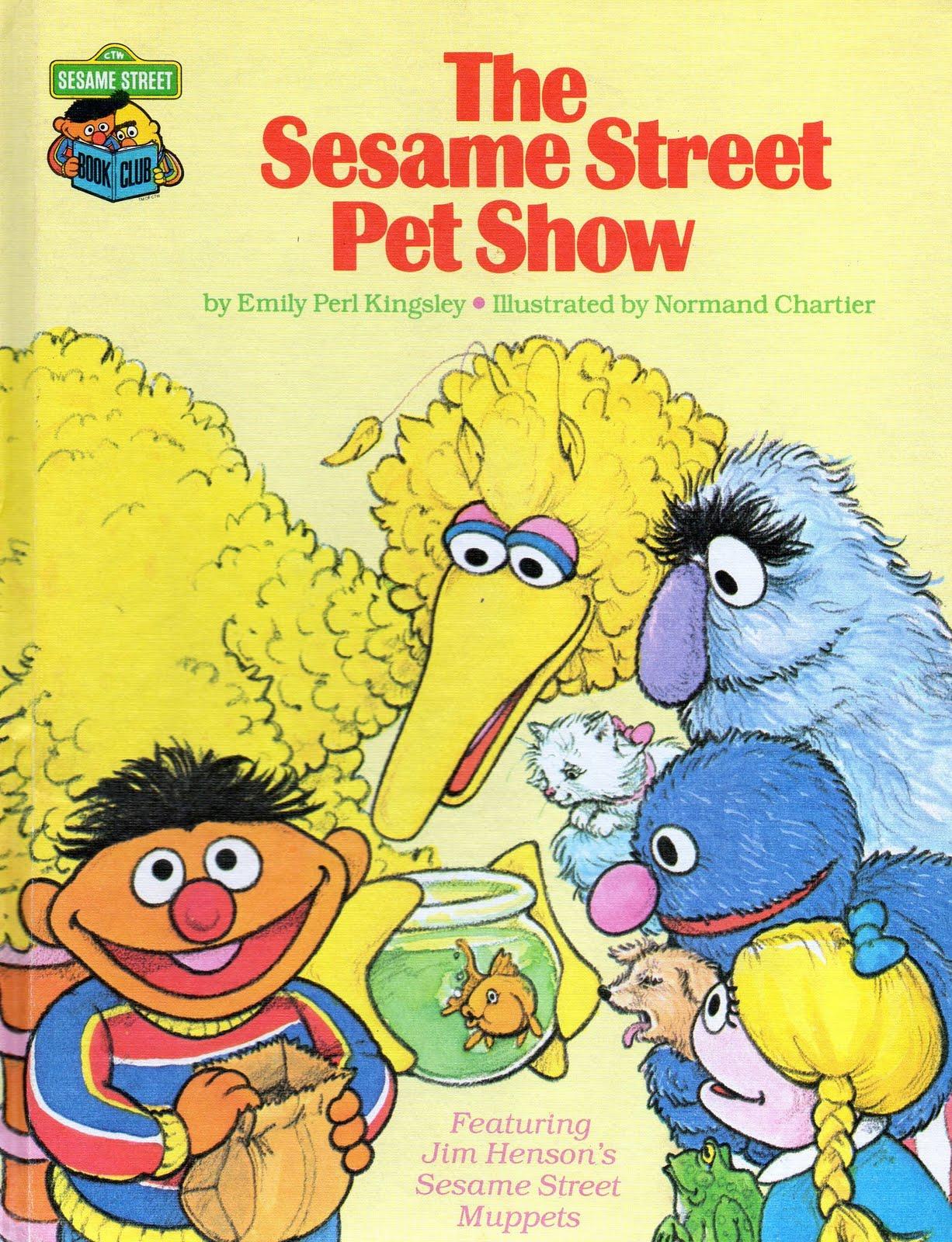 The Sesame Street Pet Show Muppet
