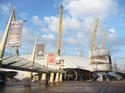 The O2 Arena, entrance