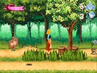 Cinderella GBA Screenshot