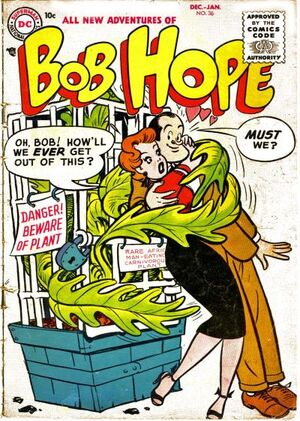 Cover for Adventures of Bob Hope #36