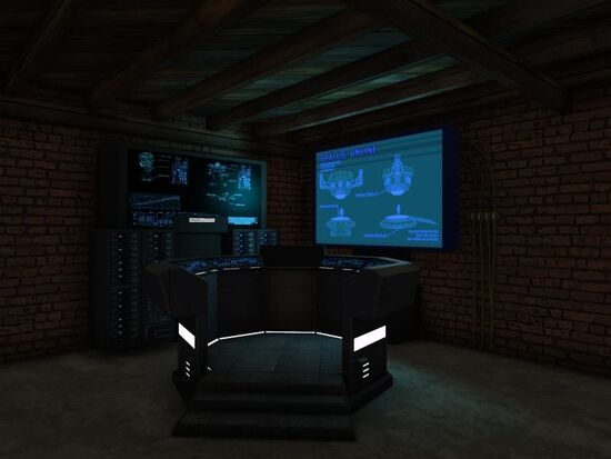 Basement - Crime Computer - Tech - Mainframe Station