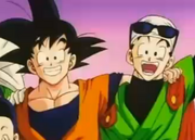 Gohan and goku