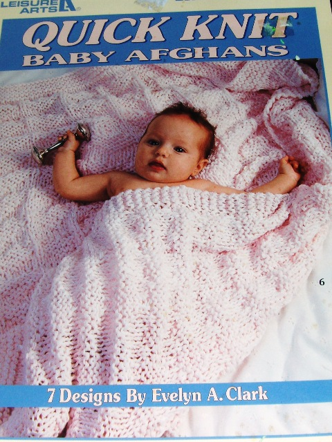 Leisure Arts 2894 Quick Knit Baby Afghans - Knitting and Crochet Pattern Arch...