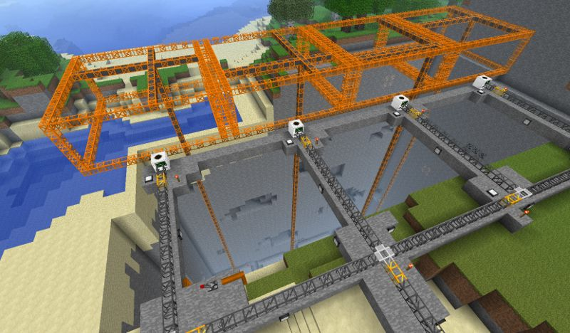 Huge how-to-make-an-automatic-mining-machine-in-minecraft cacheddec self was video minecraft auto-mining machine that...