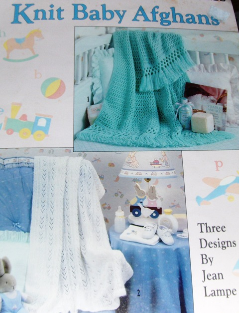 Leisure Arts 2316 Knit Baby Afghans - Knitting and Crochet Pattern Archive Wiki