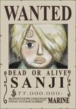 Wanted de Sanji