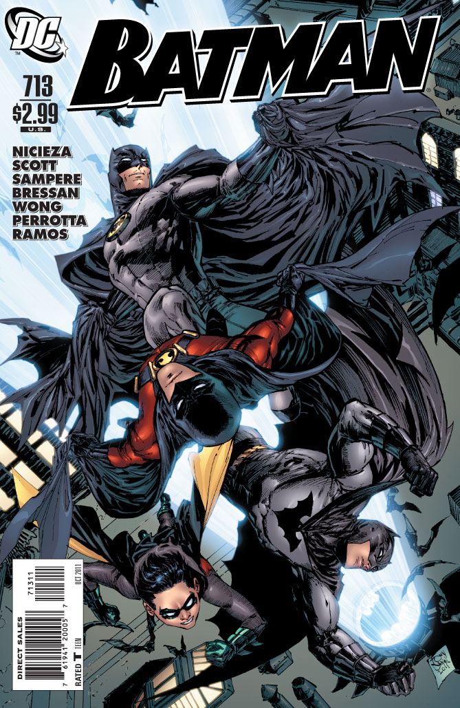 Legends of the Dork Knight: Batman #713 - The Final Batman Comic ...