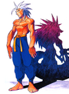 Night Warriors Darkstalkers Revenge Jon Talbain 01