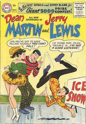 Cover for Adventures of Dean Martin and Jerry Lewis #33