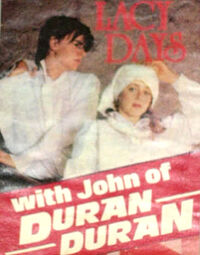 Lacy days duran duran pin up