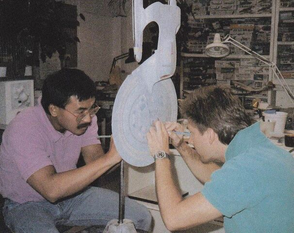 606px-USS_Enterprise_2-foot_model_worked_on_by_Larry_Tan_and_Bill_George.jpg