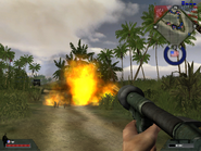 BFVWWII M2 flamethrower fire