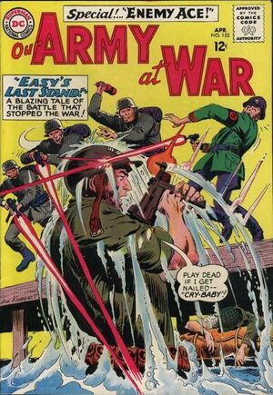 Cover for Our Army at War #153