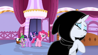 Rarity wants to be alone S01E20