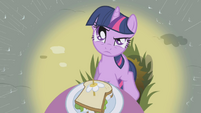 Twilight Sparkle not impressed S1E03