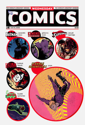 Cover for Wednesday Comics #6