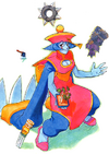Night Warriors Darkstalkers Revenge Hsien-Ko 01