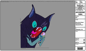 Modelsheet marcelinebeast screaming specialpose