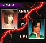 Tekken 3 - Arcade - Anna Williams versus Lei Wulong - Screen