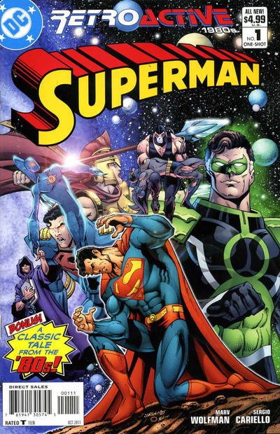 Cover for DC Retroactive: Superman #1