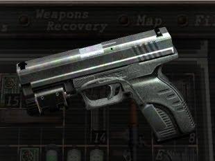Pistola Blacktail - Resident Evil Blacktail