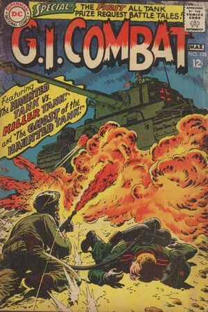Cover for G.I. Combat #128