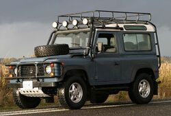 1997 Land Rover Defender 90 1