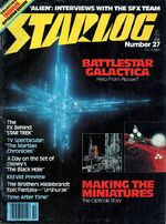 Starlog issue 027 cover