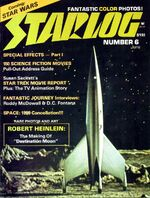 Starlog issue 006 cover