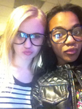 China Anne McClain and Sierra McCormick