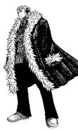 Fairy Tail Laxus' Second Attire in the Manga