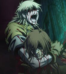 Seras with dead Bernadotte