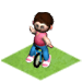 Kid on Unicycle-icon