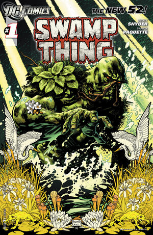 Cover for Swamp Thing #1
