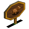 Dexter Cow Mastery Sign-icon