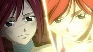 Erza&#39;s farewell