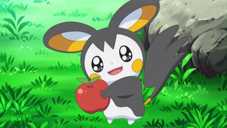 Pokemon (anime series) Emolga_holding_an_apple